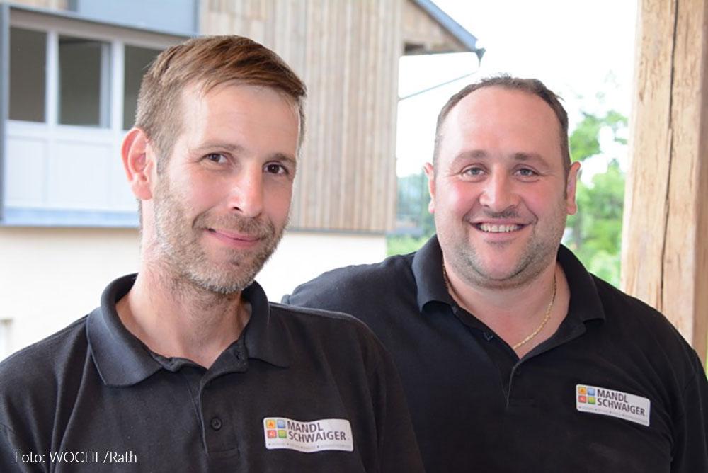 Schwaiger Daniel und Hannes Mandl